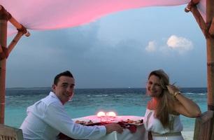 Ilhas Maldivas - noivado