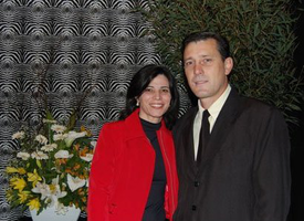 Elenice e Adalberto