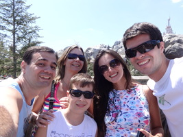 Kleberson, Andrea e Rafa. Nossos grandes companheiros de viagens! Parte da família.