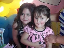 Duda e Bianca Nossas daminhas Irmã e Prima do Noivo