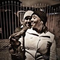 Ensaio fotojornalismo street wedding, por Thais Datri.