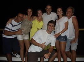 Que galera é essa!! Lucas, Paulinha, Lu, Bruno e Tio Alex (Barra de Ooooouro).