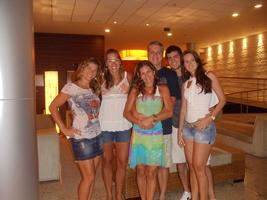 Só os jogadores do Mundial (risos): Larissa, Lili, Valéria e Nüi.