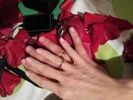 O noivado...