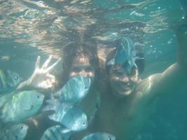 Até embaixo d'água! Paraty - RJ