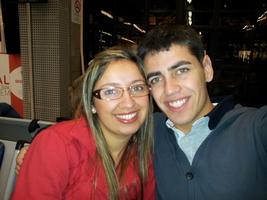No aeroporto esperando o vôo para Lima - Peru