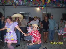 Festa Junina em Saracuruna 2008