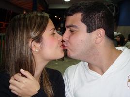 Beijo de chocolate em Paraty
