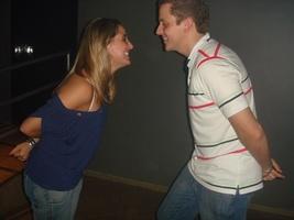 O dia que nos conhecemos...a primeira dança!rs