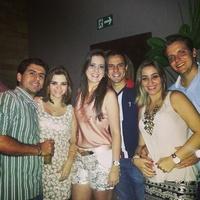 Niver do Júnior...Vila Mix! Com meus padrinhos Taty, Adriano, Flavio e cunhada Sumarinha