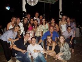 Encontro das Décadas...niver dos sogros, cunhada e amor!! Família Paiva e Leandro reunida!!
