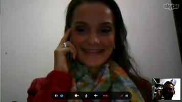 04 de Maio de 2013- Matando a saudade através do Skype