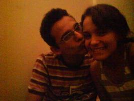 17 de Janeiro de 2009- Pedido de namoro, e essa foto é o dia da entrega da aliança de compromisso- 01 de Outubro de 2009