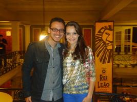 Teatro Renault de São Paulo- Nos presenteamos com o Musical O Rei Leão