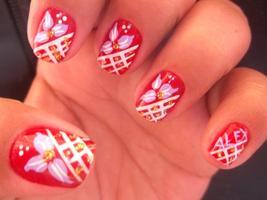 Amo d+++ .. Demonstro meu amor até na decoração da unha. :)