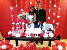 O noivado foi o começo de tudo, o começo de uma longa caminhada ao lado da pessoa que amamos e que queremos bem!