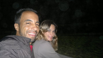 Noite na praia do Recreio dos Bandeirantes RJ