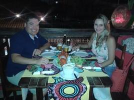Jantar especial em Porto de Galinhas/PE
