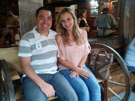 Vanessa sendo apresentada para família do Diogo como namorada. Restaurante do Mendonça - Campo Alegre