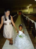 Com Laís no casamento de Rose e Flávio!
