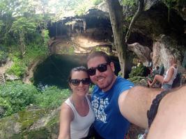 Cenote no México!