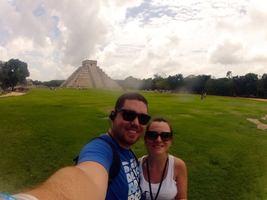 Nossa segunda viagem juntos: Cancún! Que delícia conhecer tanta coisa incrível com o amor da sua vida!
