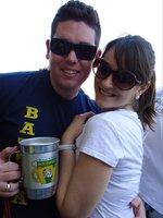 No nosso último JUCA da faculdade e primeiro namorando!