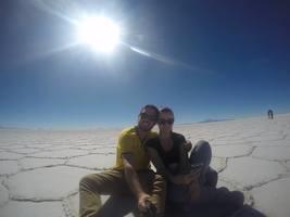 3 dias no deserto, sem sinal de celular, sem ngm pra atrapalhar (mais ou menos..rs)! Uma das paisagens mais incríveis que já vimos!