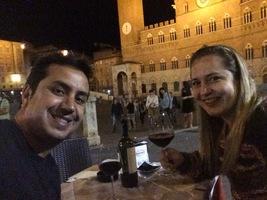 Siena na Toscana. Também está no top5 das cidades do nosso coração.