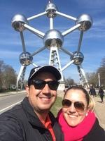 Atomium em Bruxelas - Bélgica