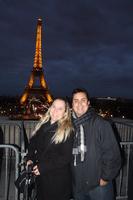 Com a dona da Cidade de Paris