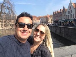 Bruges na Bélgica - acho que a cidade que mais gostamos de conhecer!