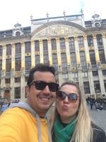 Bruxelas - Bélgica. Esta praça é linda!