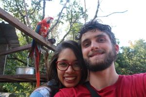R: Um dos nossos primeiros passeios juntos S: Ele planejou nosso dia comemorando dois meses