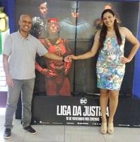 """Após ver o filme """"Liga da Justiça"""" no cinema do Shopping - 19/11/17"""
