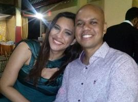 Primeira foto do casal compartilhada no Facebook - 11/12/16