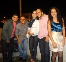 Juninho, Davidson e Bárbara