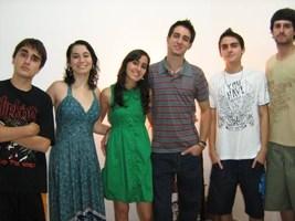 Primos/irmãos - Matheus, Roxanne, Fabrício, Vinícius e Filipe