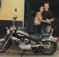 Viagem de moto de Fortaleza a Curitiba, 2002.