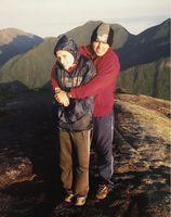Nascer do sol no Pico Paraná após 7 horas de trilha, 2005.