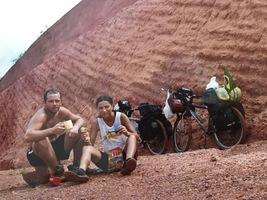 Viagem de bicicleta pela Transamazônica, Peru e Bolívia, 2003.