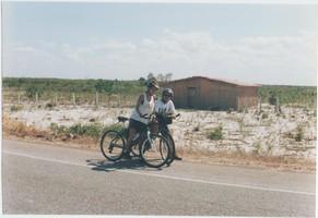 Pedalando pelo Ceará, 2002.