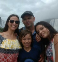 Passeio nas Cataratas do Iguaçu, 2017.
