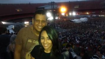 O inesquecível show do Foo Fighters .