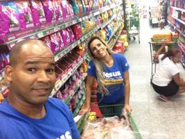 Mozão em um estagio intensivo , supermercado de domingo lotado rsrs.