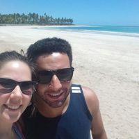 Fazendo o que mais amamos juntos VIAJAR! Praias do nordeste brasileiro...amooo!
