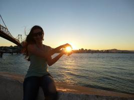 Porque as vezes precisamos segurar o sol, só um pouco para mais uma baita foto!