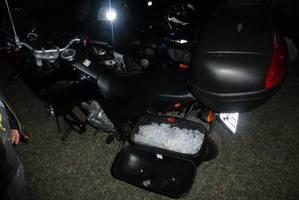 Por que o Bauleto lateral  da moto tem infinitas possibilidades!