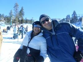 O lugar favorito do Gian: na neve! (Big Bear - California 2015)