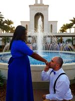 Eu pedi, ela disse sim.😍 Ele pediu, e eu disse sim.😍